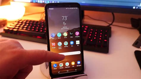 Galaxy S9 Plus Home Screen Setup, Launcher and Apps - YouTube