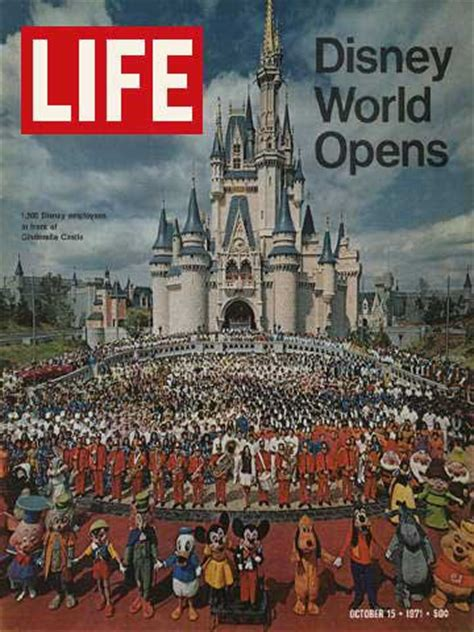 STUMPTOWNBLOGGER: DISNEY WORLD OPENED ON THIS DAY (1971