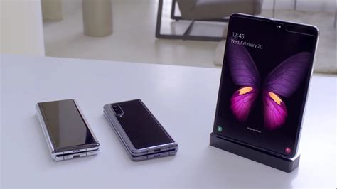 The Samsung Galaxy Fold speaks for itself in a silent