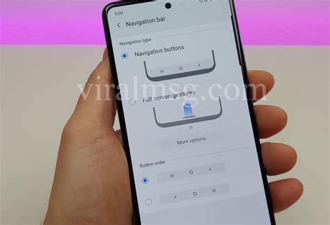 Customize Samsung A51 features | Battery | Side key
