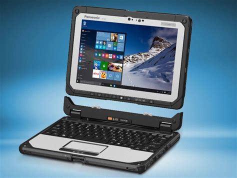 Panasonic updates detachable 2-in-1 Toughbook CF-20 with