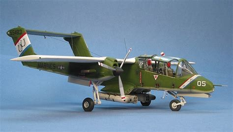 OV-10 Bronco, Then and Now Part One - OV-10A by David W