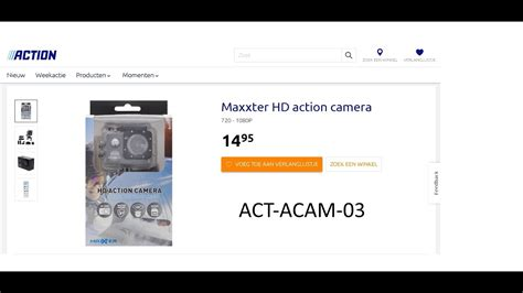 Maxxter Action Cam Review - ACTION CAM