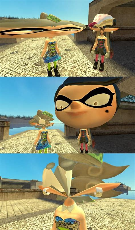 So about those Gmod Splatoon models   Splatoon   Know Your