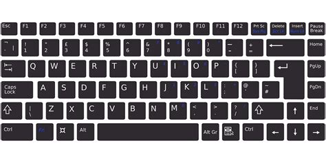 Keyboard Electronic Computer · Free vector graphic on Pixabay