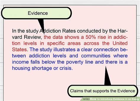 How to Introduce Evidence in an Essay: 14 Steps (with