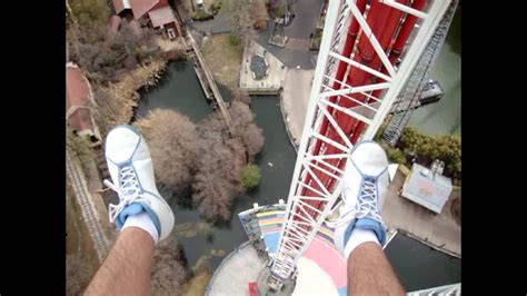 Superman Tower Of Power POV SIX FLAGS OVER TEXAS - YouTube
