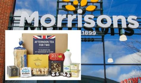 Morrisons Afternoon Tea box for VE Day costs just £15