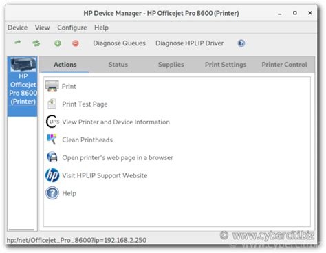 How to install networked HP printer and scanner on Fedora