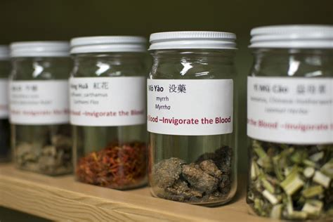 Chinese herb library opens - NUNM Library
