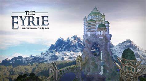 Minecraft Cinema: The Eyrie - Stronghold of Arryn - YouTube