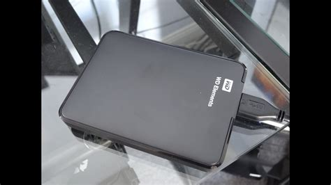 WD Elements 1TB Portable HDD Unboxing and Review - YouTube