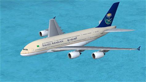 Saudi Arabian Airlines Airbus A380-800 for FSX