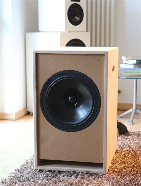 Audible SUB, 12 Zoll Chassis, aktiv, in Birke Multiplex
