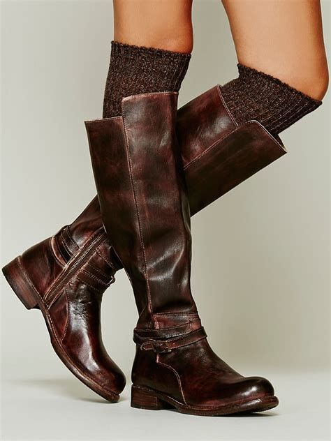 Bed Stu Bonnor Tall Boot in Brown - Lyst