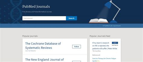 Follow PubMed Journals - NUNM Library