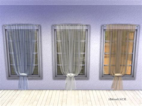 The Sims Resource: Curtains and Canopy's by ShinoKCR